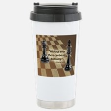Chess Quote- Brilliance Stainless Steel Travel Mug