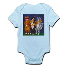 Cats Brass Section Infant Bodysuit