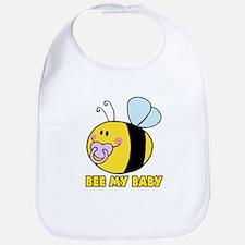 bee my baby cute baby bumble bee Bib