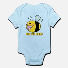 bee my baby cute baby bumble bee Infant Bodysuit