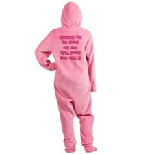 a if you can read this.png Footed Pajamas