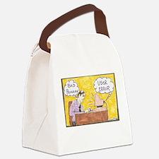 Cute Comic strip Canvas Lunch Bag