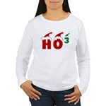 Ho Ho Ho Women's Long Sleeve T-Shirt