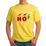 Ho Ho Ho Yellow T-Shirt