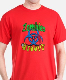 Zombies Groovy 2 T-Shirt