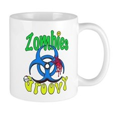 Zombies Groovy 2 Mug