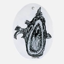 Bio fish Oval Ornament