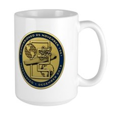 Gold CVN 65 Inactivation! Mug