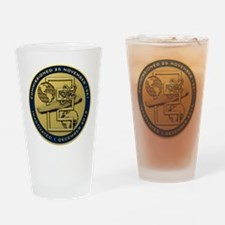 Gold CVN 65 Inactivation! Drinking Glass