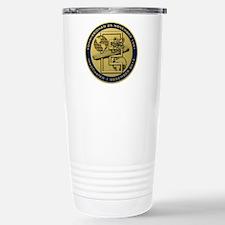 Gold CVN 65 Inactivation! Travel Mug