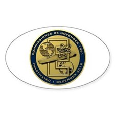 Gold CVN 65 Inactivation! Decal