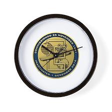 Gold CVN 65 Inactivation! Wall Clock