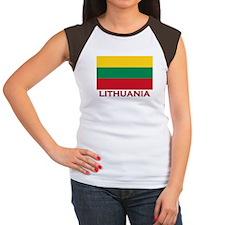 Lithuania Flag Stuff Women's Cap Sleeve T-Shirt