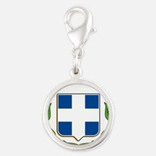 greek-crest.png Silver Round Charm