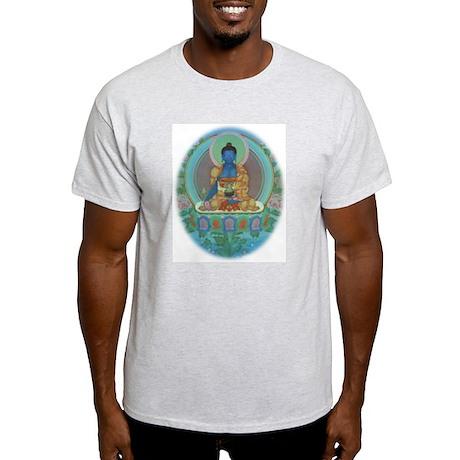 Ash Grey T-Shirt Medicine Buddha