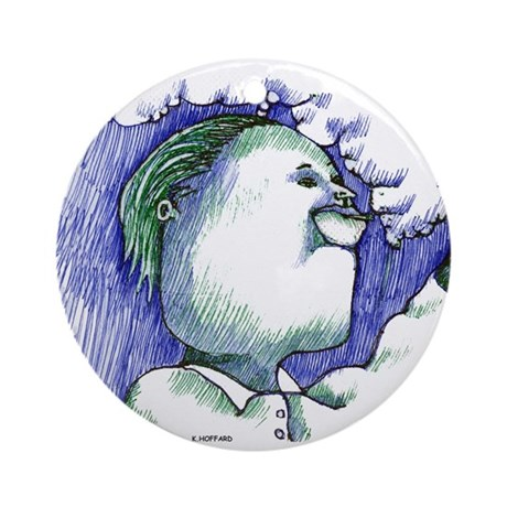 Ego Ornament (Round)