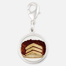 cake-retro_trans.png Silver Round Charm