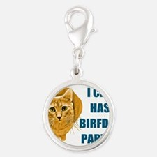 LOLCAT-BIRFDAY-Y.png Silver Round Charm