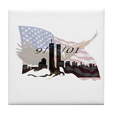 9/11/01 Tile Coaster