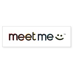 MeetMe Bumper Bumper Sticker