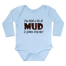 'Mud' Long Sleeve Infant Bodysuit