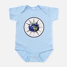Greyhound around the world! Infant Bodysuit