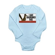 Roadrunner Rage Long Sleeve Infant Bodysuit