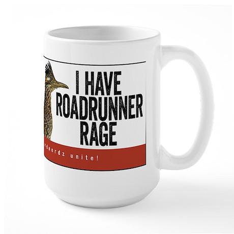Roadrunner Rage Large Mug