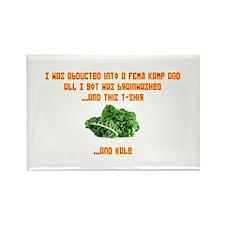 Souvenir Kale Shirt Rectangle Magnet