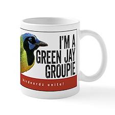 Green Jay Groupie Mug