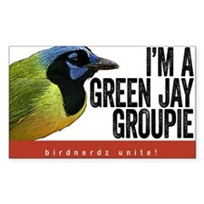 Green Jay Groupie Decal