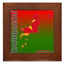 Carriacou Framed Tile