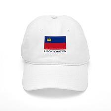 Flag of Liechtenstein Baseball Cap