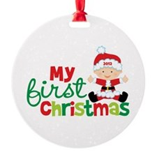 Baby Santa Babies First Christmas Ornament