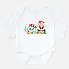 Baby Santa Babies First Christmas Long Sleeve Infa
