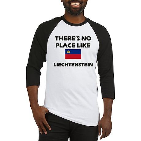 Flag of Liechtenstein Baseball Jersey