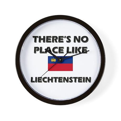Flag of Liechtenstein Wall Clock