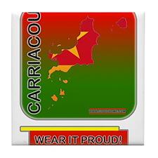 Carriacou Wear It Proud Tile Coaster