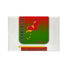 Carriacou Wear It Proud Rectangle Magnet