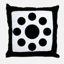 Hosokawa kuyo Throw Pillow