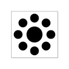 "Hosokawa kuyo Square Sticker 3"" x 3"""