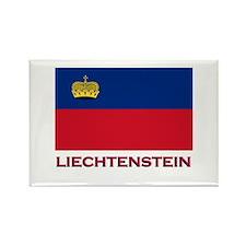 Liechtenstein Flag Stuff Rectangle Magnet