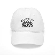 World's Best Crew Coach Baseball Cap