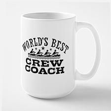 World's Best Crew Coach Mug