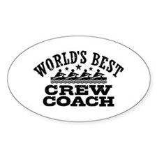 World's Best Crew Coach Decal