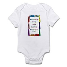 Crayons Infant Bodysuit