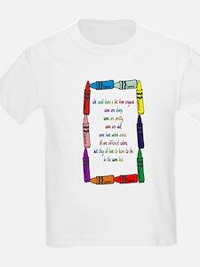 Crayons Kids T-Shirt