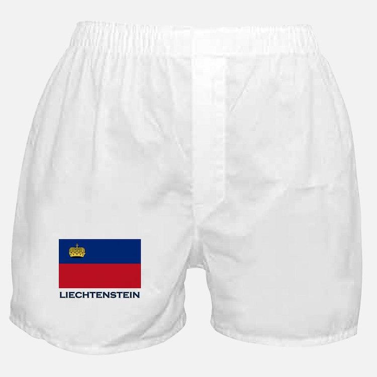 Liechtenstein Flag Gear Boxer Shorts