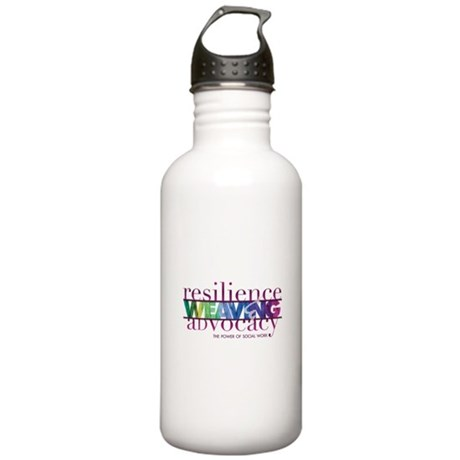Weaving R and A Stainless Water Bottle 1.0L