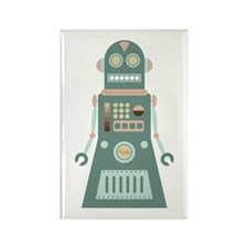 Awesome Robot Rectangle Magnet